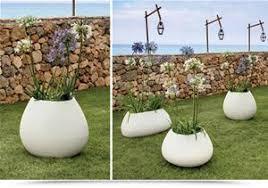 vaso resina bianco di 2 vasi da esterno in resina 100 resistente colore bianco