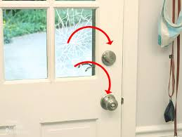 doors with glass windows install security film to a glass door and protect your home