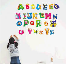 kids room breathtaking letter wall decals for kids rooms polka