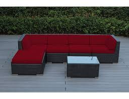 Herrington Patio Furniture by Amazon Com Ohana 6 Piece Outdoor Wicker Patio Furniture Sectional