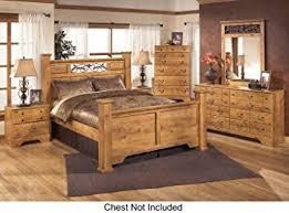 Bed And Nightstand Set Amazon Com Bittersweet Queen Bedroom Set With Poster Bed Dresser