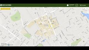 Geocache Map Geocaching Use And Application To Physical Education Youtube