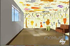 monkey wallpaper for walls entire living room wall murals page 9 idecoroom