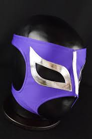 purple mask mask purple mexican lucha libre mask mexican