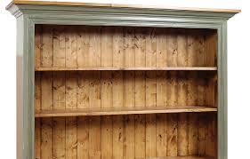 Hutch 3 3 Door Open Shelf Stepback Cupboard Kate Madison Furniture