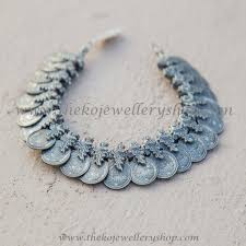 silver coin jewelry necklace images The medhavin antique 92 5 silver coin necklace oxidised ko jpg