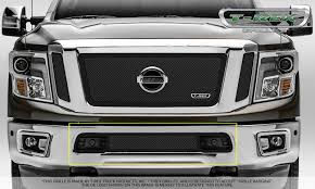 nissan commercial logo t rex nissan titan stealth metal 3 pc insert main grille w
