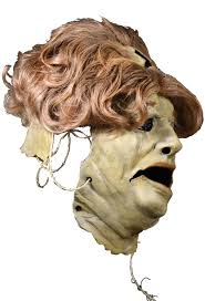 leatherface mask house of mysterious secrets masks props chainsaw
