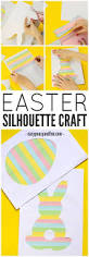 printable easter silhouette craft easy peasy and fun