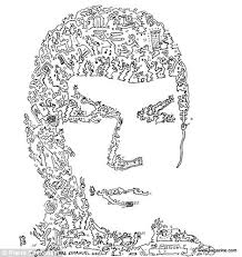 pierre emmanuel godet portraits of famous faces drawn with one