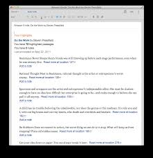 how to get your kindle highlights into evernote