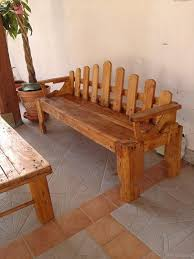 Long Table With Bench Furniture 20 Mesmerizing Images Diy Rustic Outdoor Dining Table