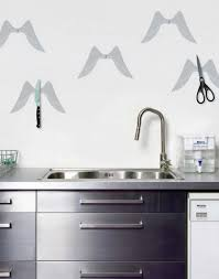 kitchen accessories unique kitchen wall ideas with scissors and