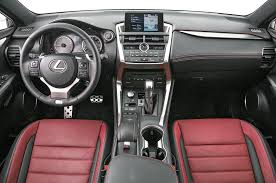 lexus rc 300 f sport lease 2015 lexus nx 200t f sport 300h first test motor trend