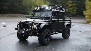 land rover truck james bond bond special topgear com drives the 007 spectre defender