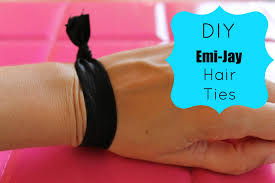 emi hair ties make your own emi boutique hair ties with creaseless elastic