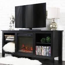 black friday fireplace entertainment center walker edison driftwood tv stand with fireplace insert for tvs up