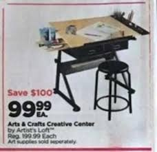 Table Saw Black Friday Arts U0026 Crafts Creative Center 99 99 At Michaels On Black Friday