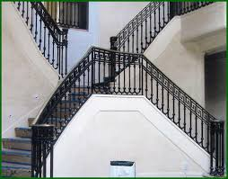 Iron Stair Banister Wrought Iron Hand Railings Denver