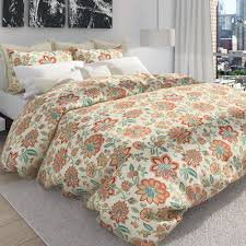 Bedding Cover Sets by Bella Melon Jacobean Floral Duvet Cover Set By Colorfly