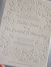 embossed wedding invitations a peek into the studio gold foil and blind letterpress