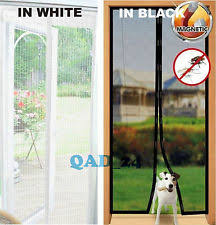 Magnetic Curtains For Doors Magnetic Door Screen Curtains U0026 Blinds Ebay