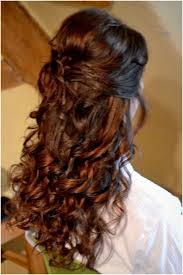 Half Up Half Down Hairstyles Black Hair Wedding Hairstyle For Long Curly Hair Half Up Half Down Wedding
