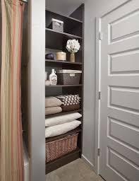 bathroom closet design houzz bathroom closet organizers design
