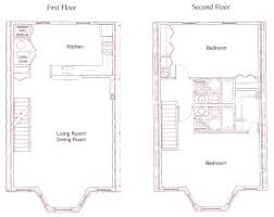 the townhomes on capitol hill floor plan two bedroom the