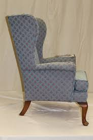 Parker Armchair Parker Knoll Wing Chair Fabric Upholstery And Antique Furniture