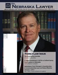 the nebraska lawyer january february 2012 by elisa oria issuu