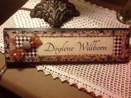 unique name plates 11 best handmade name plates images on name plates