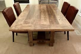 how to make a round table the attractive reclaimed wood dining room table pertaining to