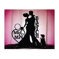cake topper with dog silhouette cake toppers page 1 of 2 wedding products on