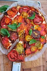cuisine journaldesfemmes tarte provençale à la tomate et au chèvre recipe cuisine