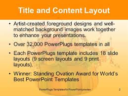 powerpoint template thanksgiving theme with words give thanks