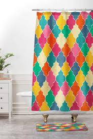 Bright Shower Curtains Morocco Bright Outdoor Throw Pillow Jacqueline Maldonado