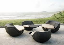 Modern Wicker Patio Furniture Outdoor U0026 Garden Enticing Solid White Modern Patio Furniture