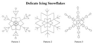 templates for snowflakes snowflake templates for royal icing template snowflakes cake