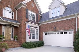 traditional contemporary garage door designs kansas city st short panel with stockton windows in true white