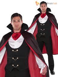 mens true vampire costume count dracula fancy dress
