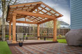 Design Ideas For Suntuf Roofing Suntuf Patio Cover With Azek Deck And Pavers In Corvallis Or
