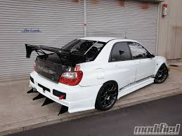 lowered subaru impreza wagon 2002 subaru impreza wrx modified magazine