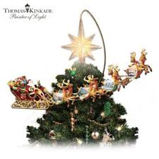 tree toppers santa claus tree toppers bradford exchange