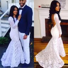lolipromdress review 49 off floral white mermaid long sleeves backless prom dresses 2018