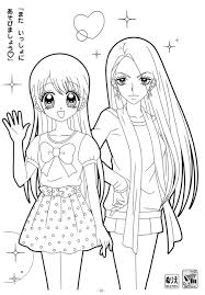 14 manga coloring pages cartoons printable coloring pages