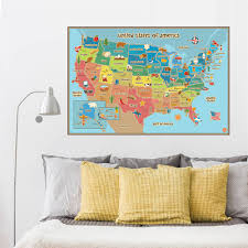 Map Of Usa For Kids by Aliexpress Com Buy Creative World Map Of American Usa Sign Home