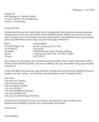 contoh surat pernyataan untuk melamar kerja 30 contoh surat lamaran kerja doc yang bagus dan benar full