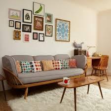 coussin canapé gris design d intérieur meuble scandinave canape gris avec des coussins