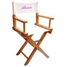 chaise metteur en scène bébé découvrez cette chaise de cinéma brodée avec prénom sur poupepoupi